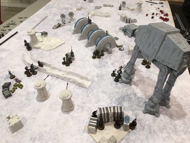An overview of the Hoth map we played on in game 1.