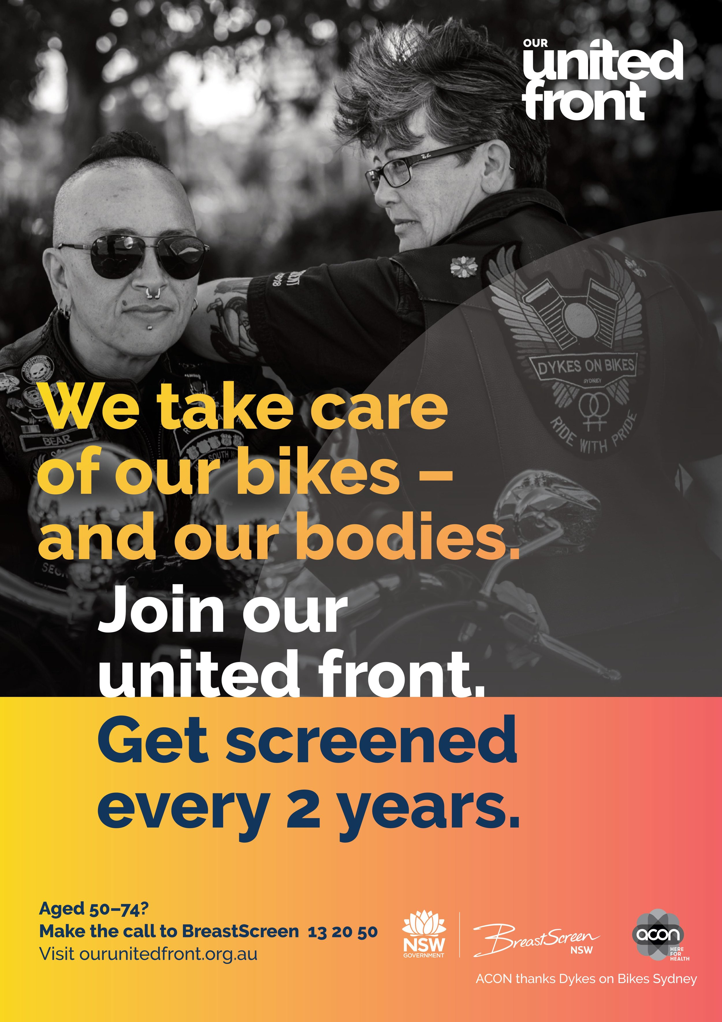 Our United Front Poster Dykes on Bikes.jpg