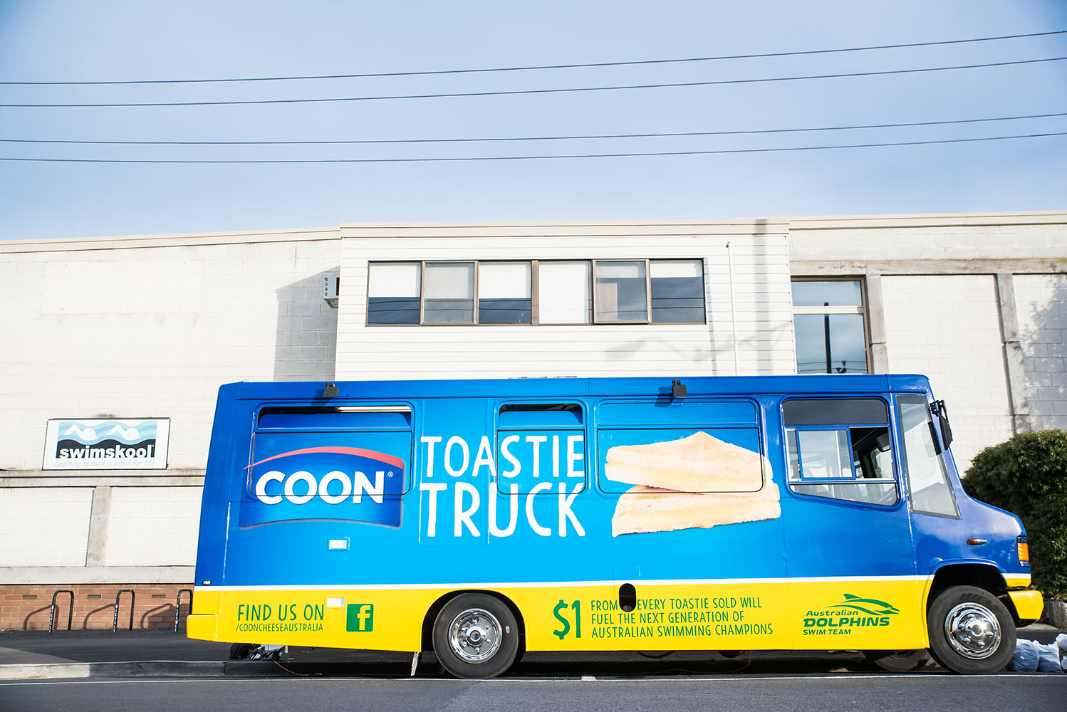 Willett Warrnambool Cheese and Butter Factory COON Cheese Toastie Truck