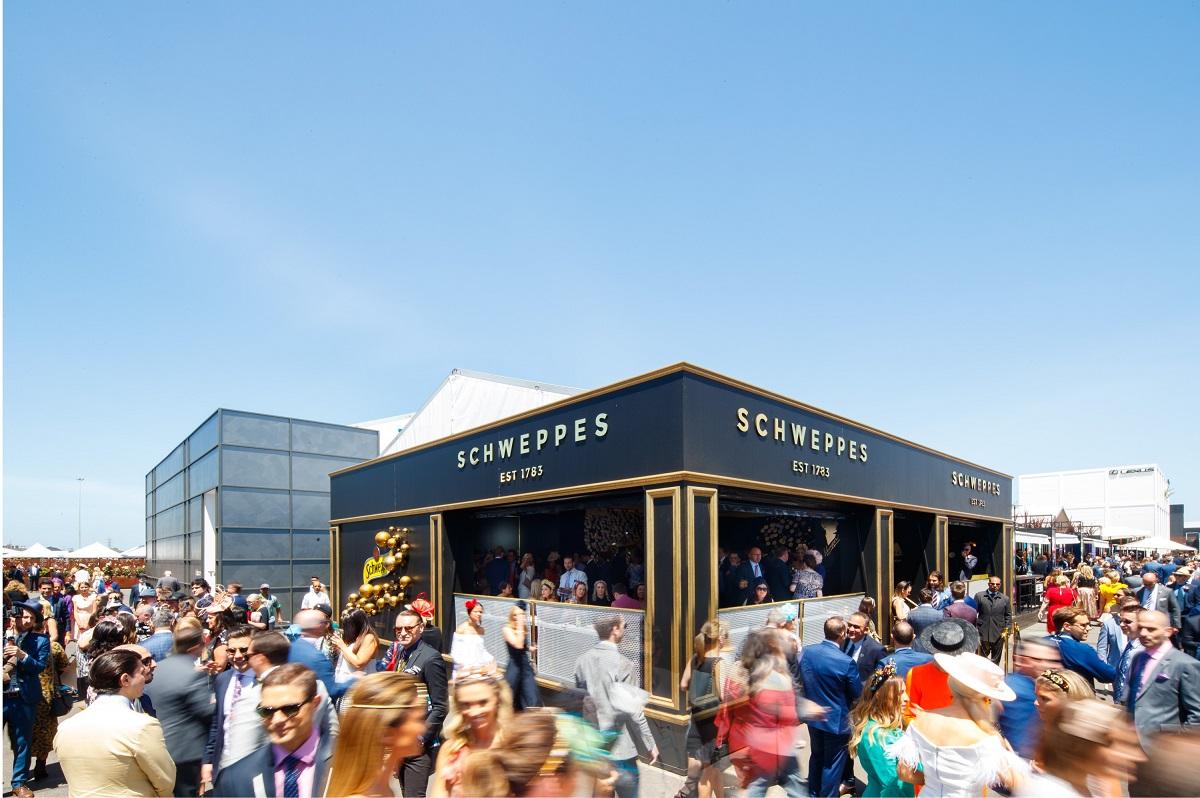 schweppes - Spring Racing Carnival Birdcage