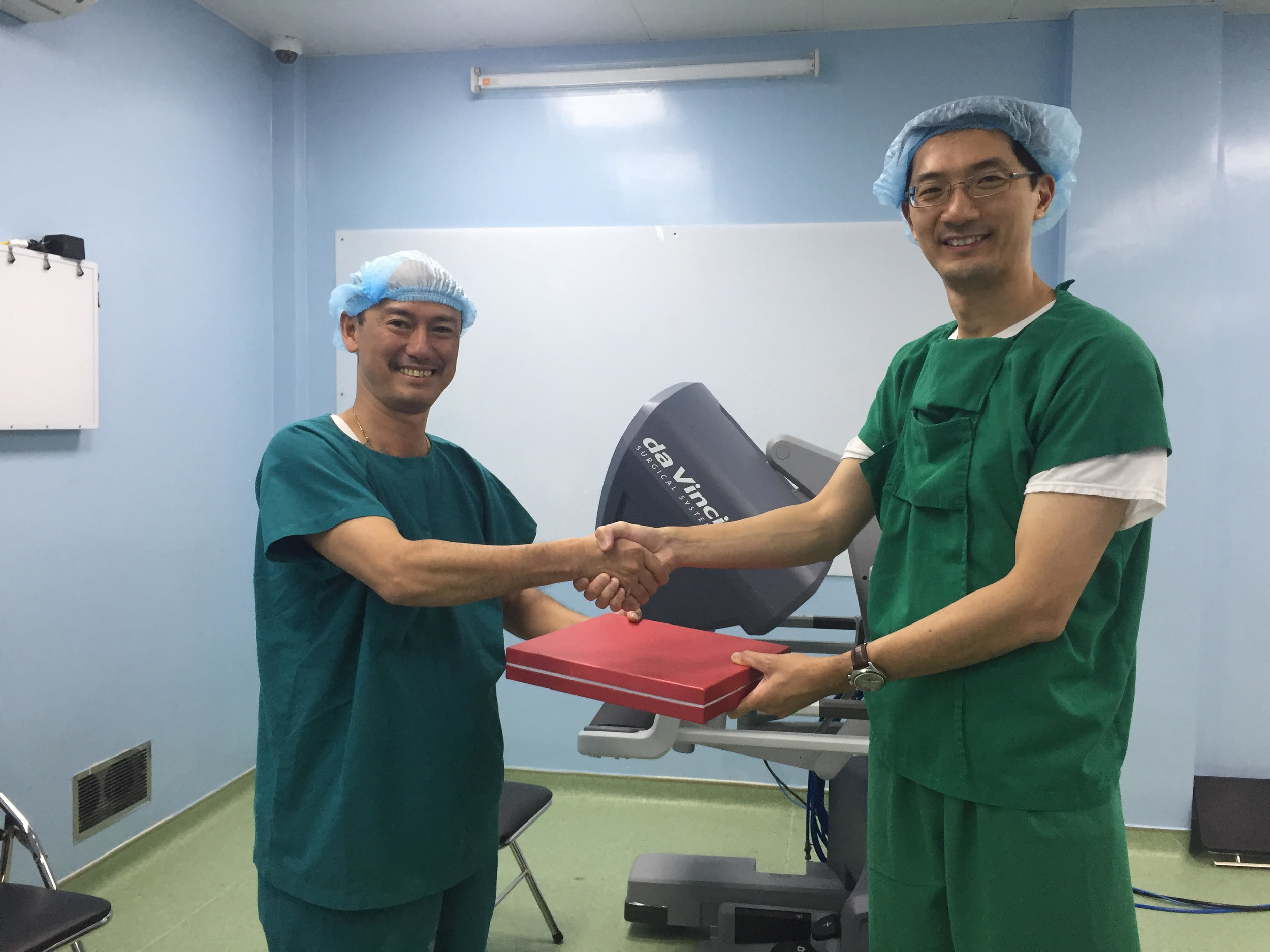 Proctoring the first 3 robotic operations in Ho Chi Minh City