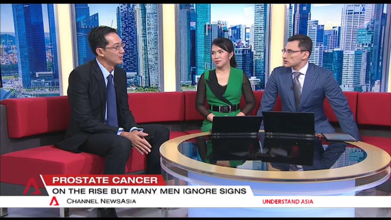Chairman of Singapore Cancer Society Prostate Cancer Awareness Campaign