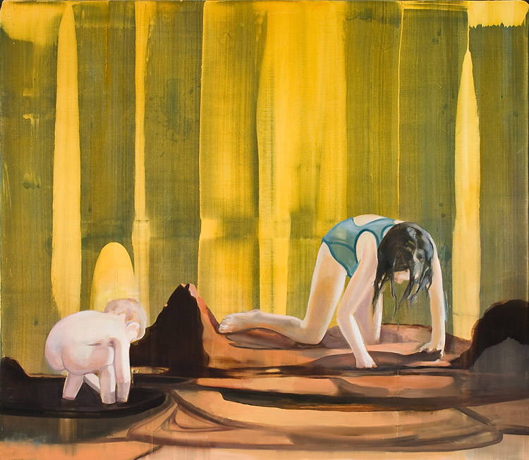 Digging for Gold, 2010 Oil on canvas, 170 x 200 cm