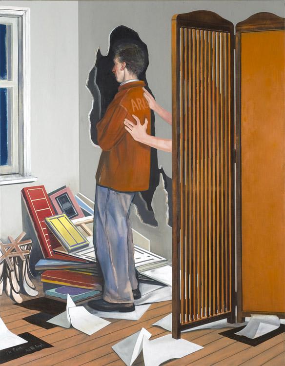 The Poet, 2009 Oil on canvas, 180 x 140 cm