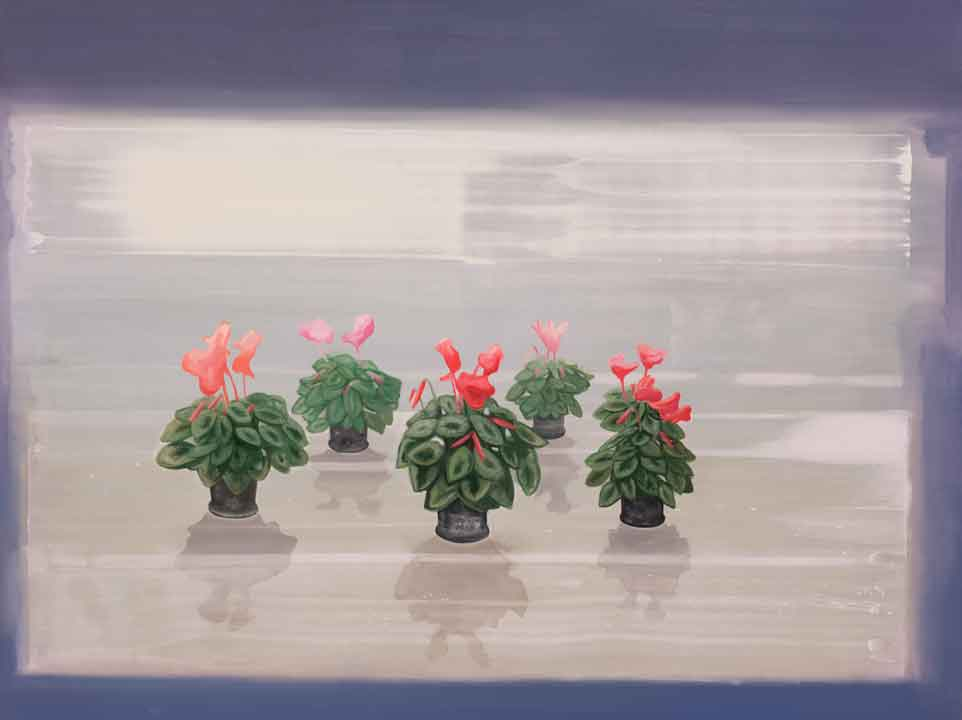 Alpines' Song, 2005-06 Oil on canvas, 150 x 200 cm