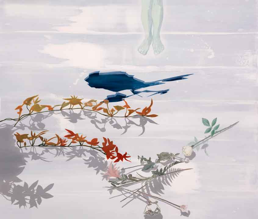 Nameless (a hymn), 2005-06 Oil on canvas, 170 x 200 cm