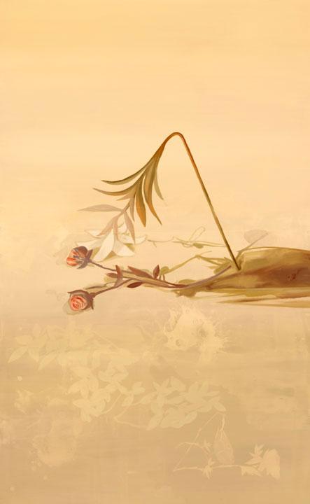 Natura Morte, 2005-06 Oil on canvas, 170 x 105 cm