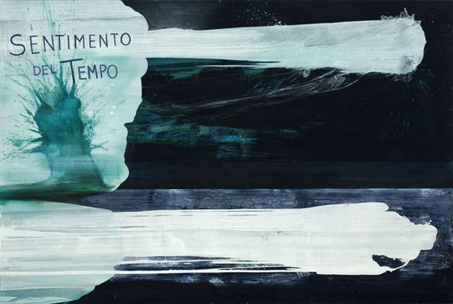 Sentimento del tempo… , 2002, oil on canvas, 200×300 cm