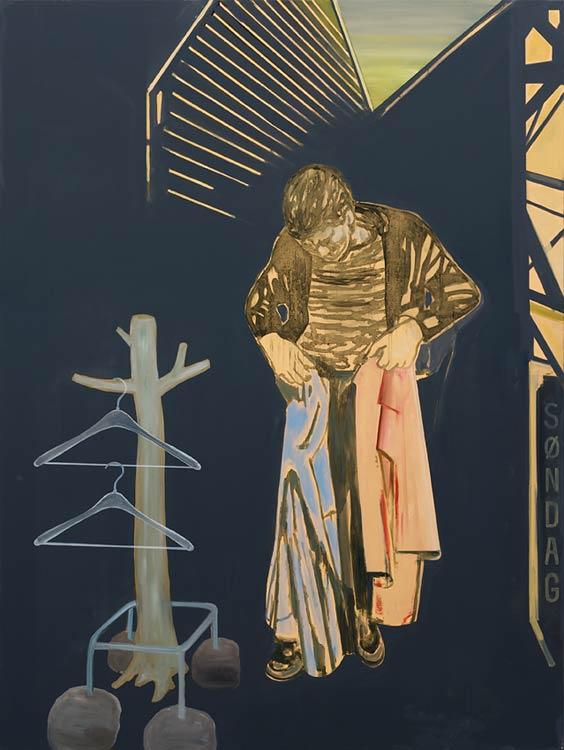 Søndag, 2002-03 Oil on canvas, 200 x 150 cm
