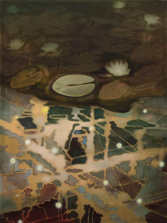 Ophelia's Dream, 2002-03 Oil on canvas, 200 x 150 cm