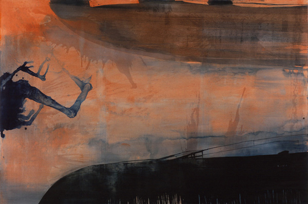 Rekviem, 1998 Oil on canvas, 200 x 300 cm