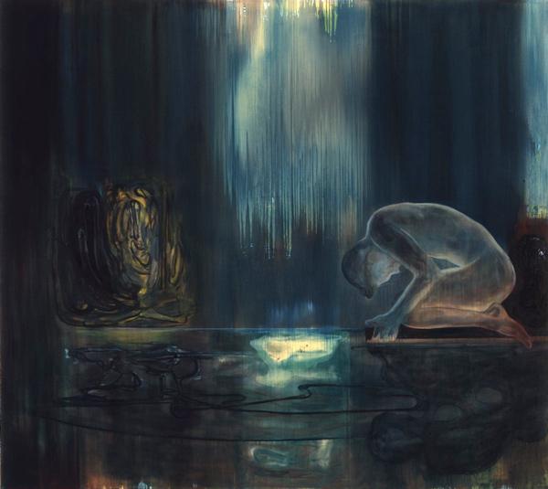Tørst, 1996-97 Oil on canvas, 200 x 225 cm