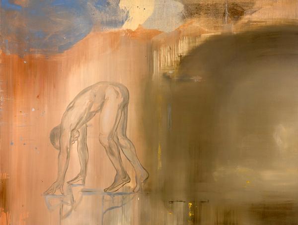 Mellom dag og natt, 1996-97 Oil on canvas, 170 x 200 cm