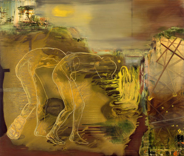 Naturens eligi, 1996-97 Oil on canvas, 170 x 200 cm