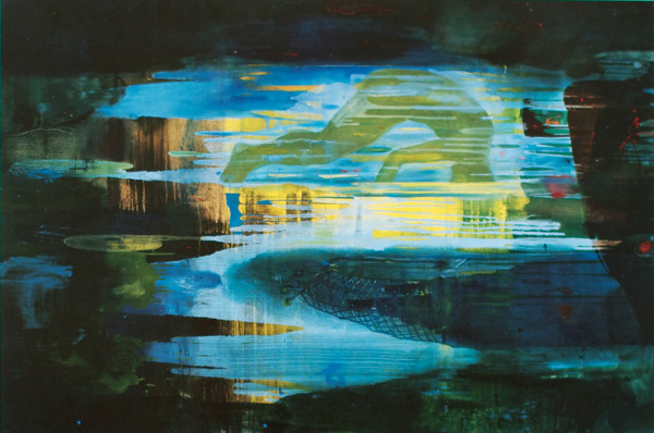 Donau, 1996-97 Oil on canvas, 200 x 300 cm