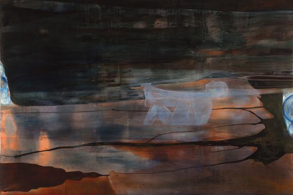 Biologisk tilstand, 1997-98 Oil on canvas, 200 x 300 cm