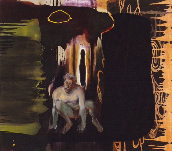 Elegi, 1996 Oil on canvas, 200 x 250 cm