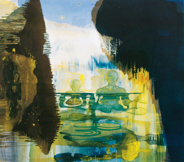 Solregn, 1996-97 Oil on canvas, 200 x 225 cm