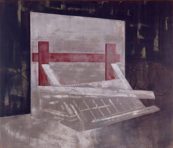 Navnløs, 1994 Oil on canvas, 170 x 200 cm