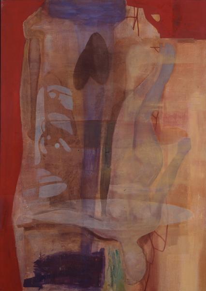 Salt, 1991 Oil on canvas, 140 x 100 cm
