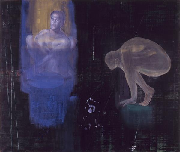 Tørst, 1994 Oil on canvas, 170 x 200 cm