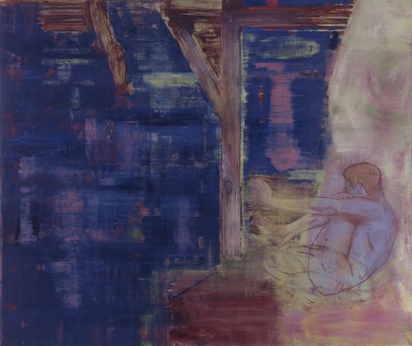 Innskrift, 1993 Oil on canvas, 170 x 200 cm