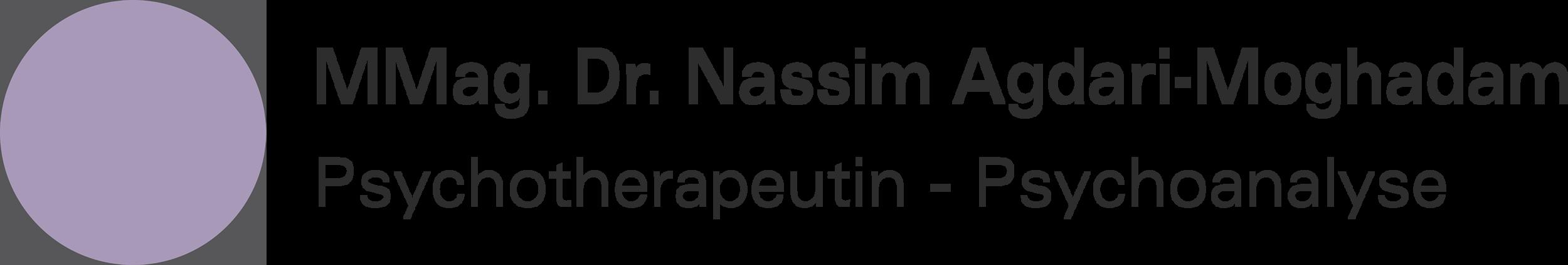 Nassim Agdari-Moghadam, Psychotherapie, Psychoanalyse, Logo
