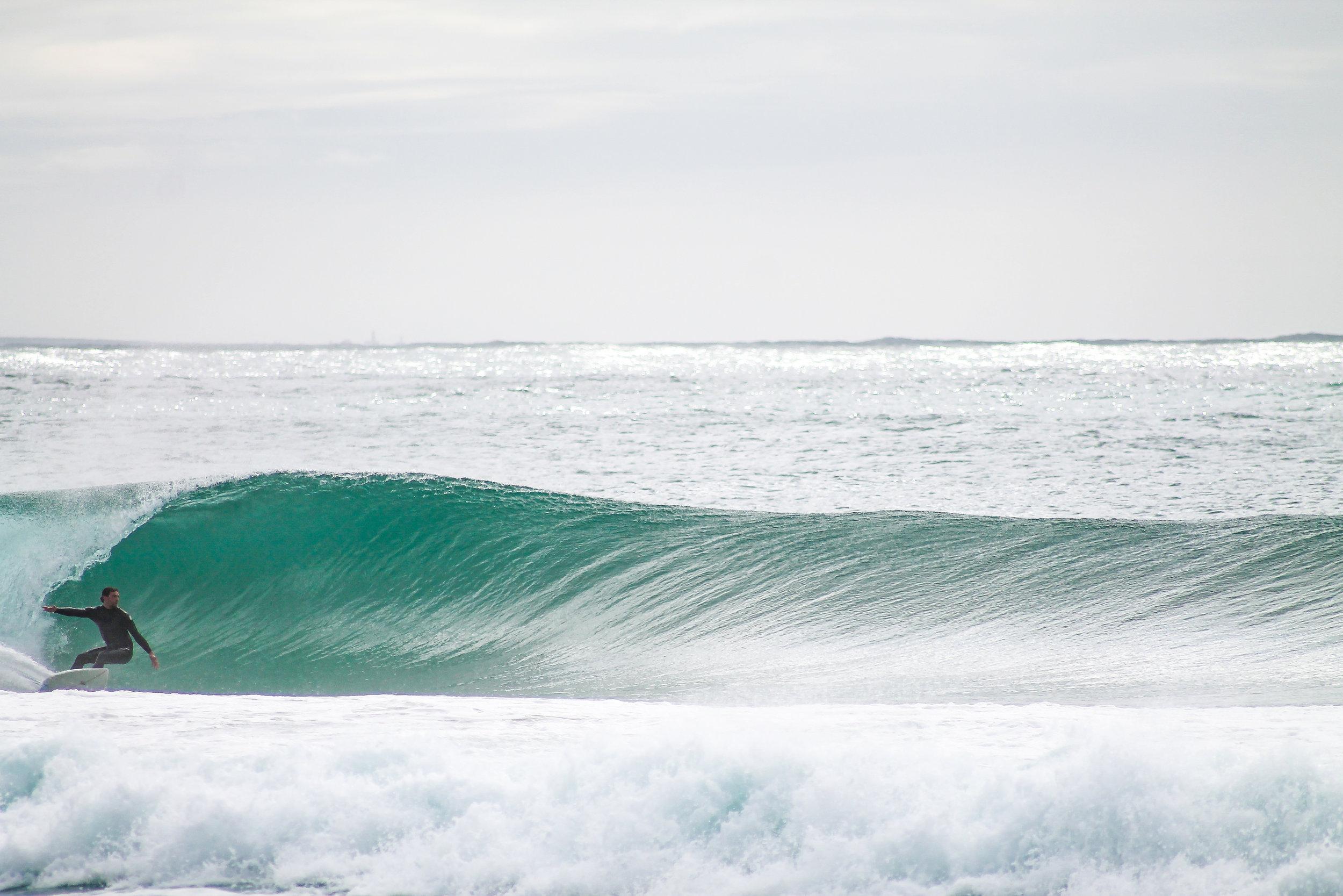 Surfing in Western Iberia, 2010.