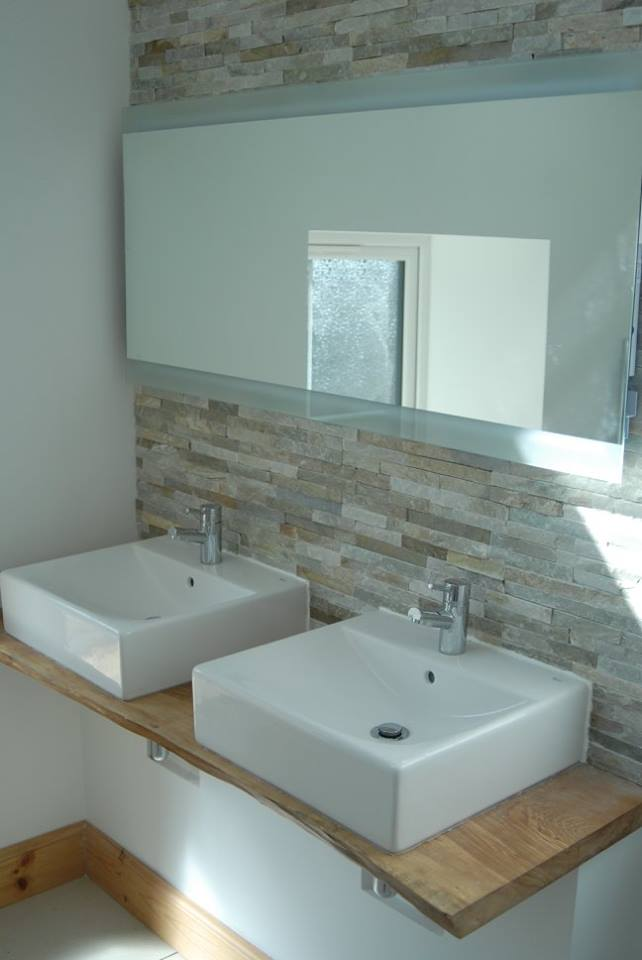 new bathroom installed in steading