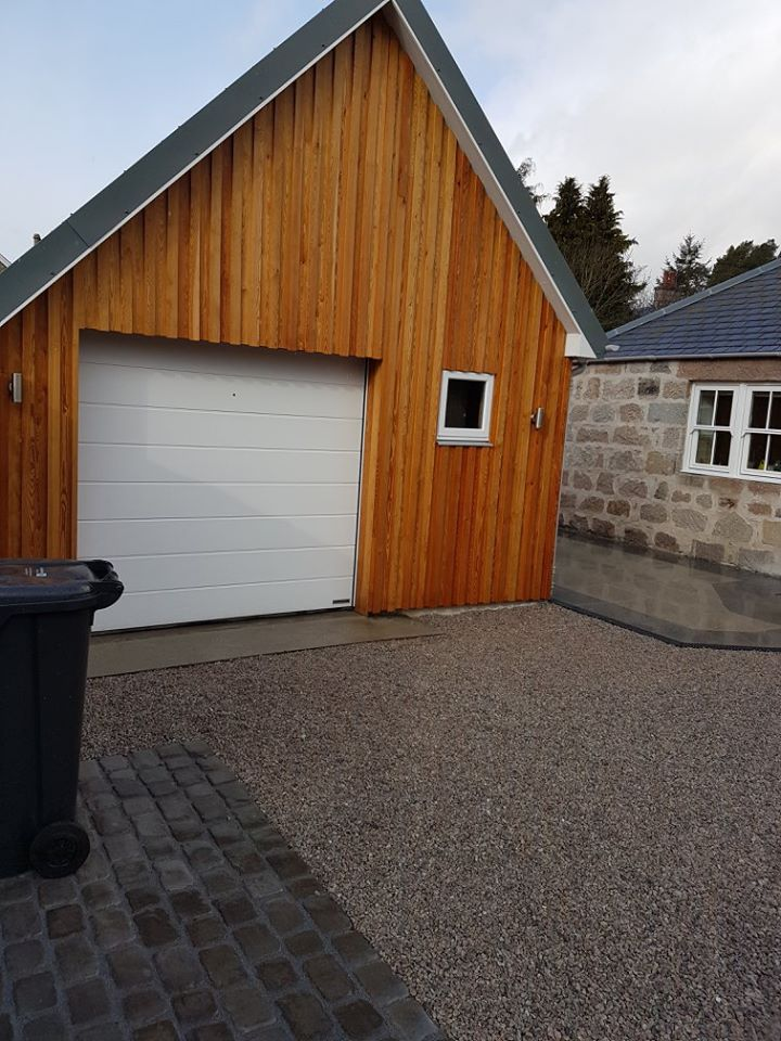 new freshened up garage
