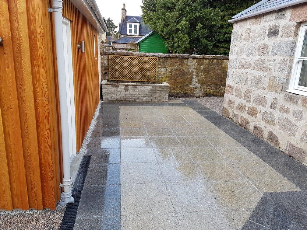 new slabs laid