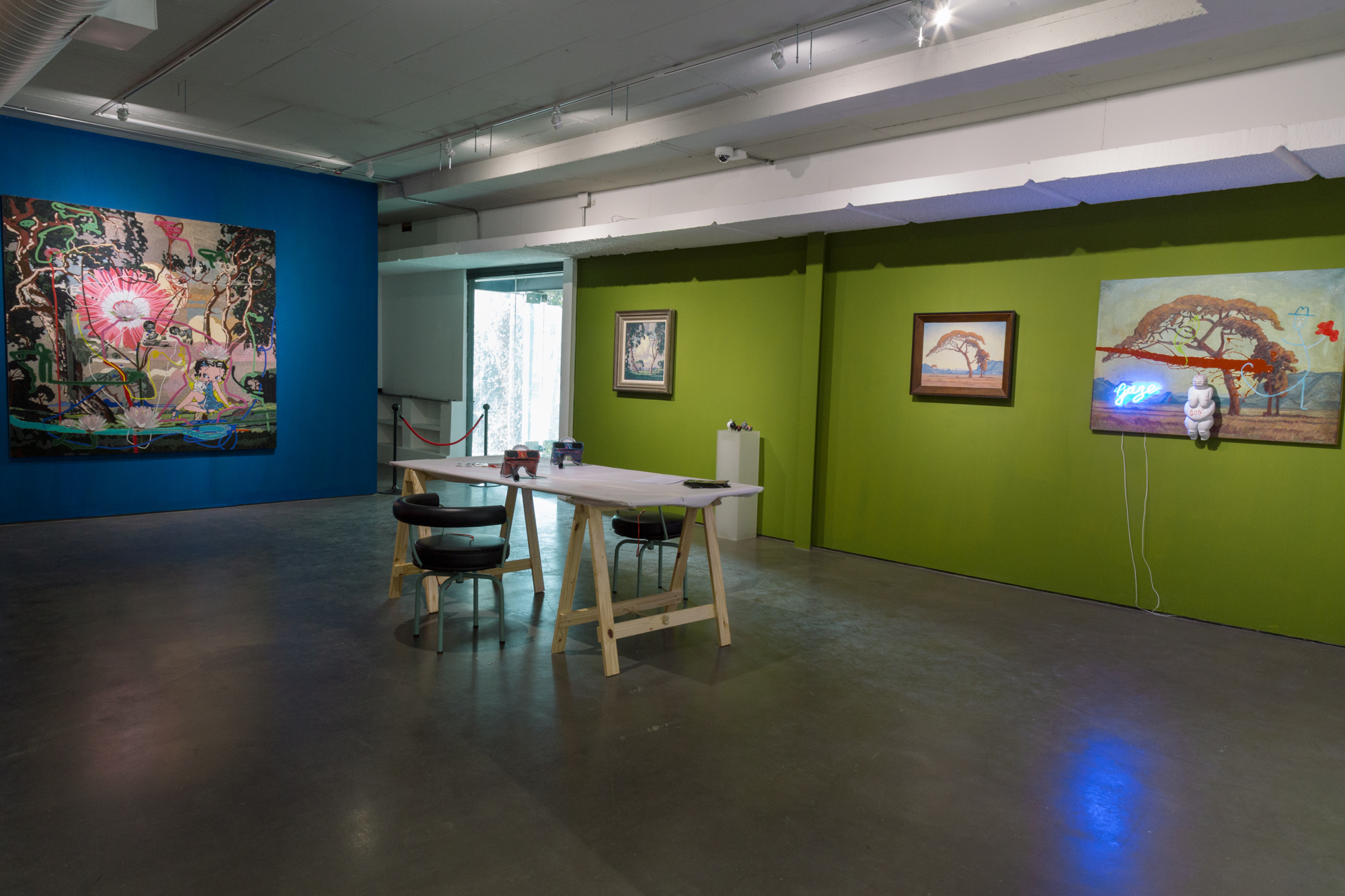 Old Mastes / New Realities Installation View