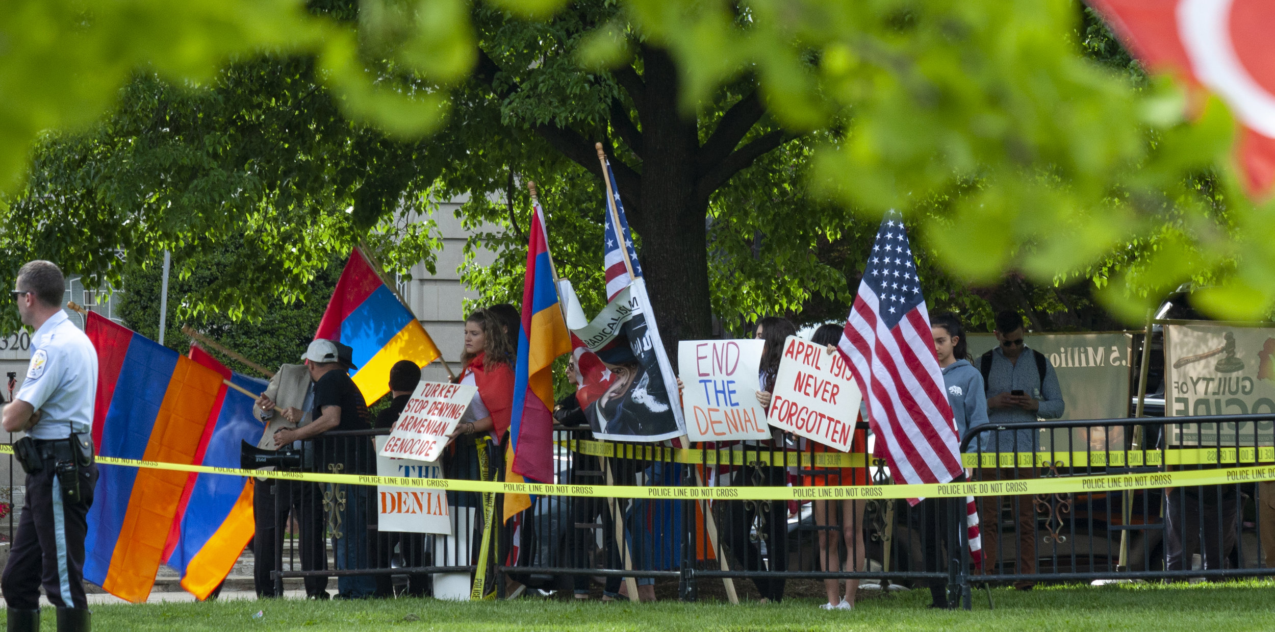Armenian Protest - Washington, DC 2019