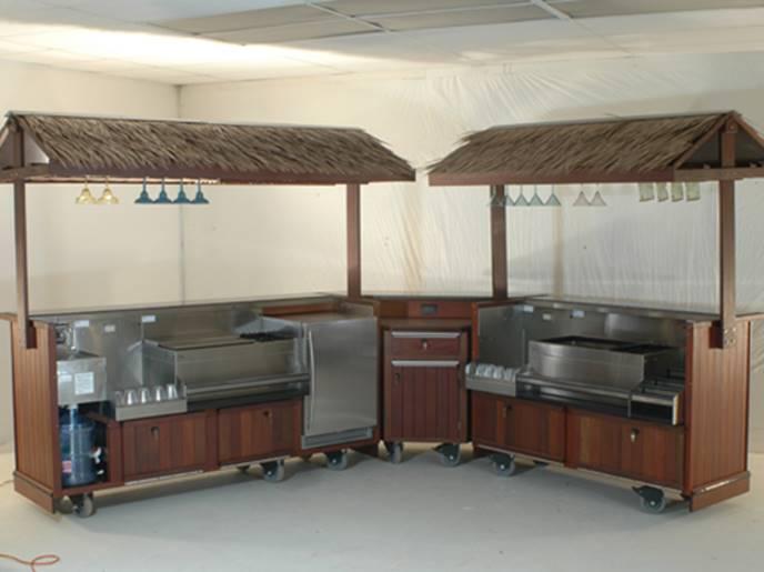 Double Tiki Bar Set