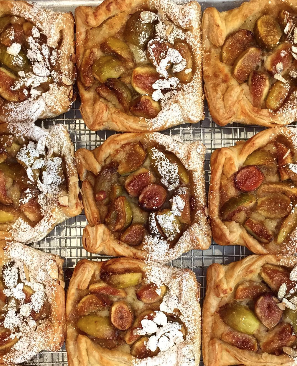 Sugared Fig Pastries