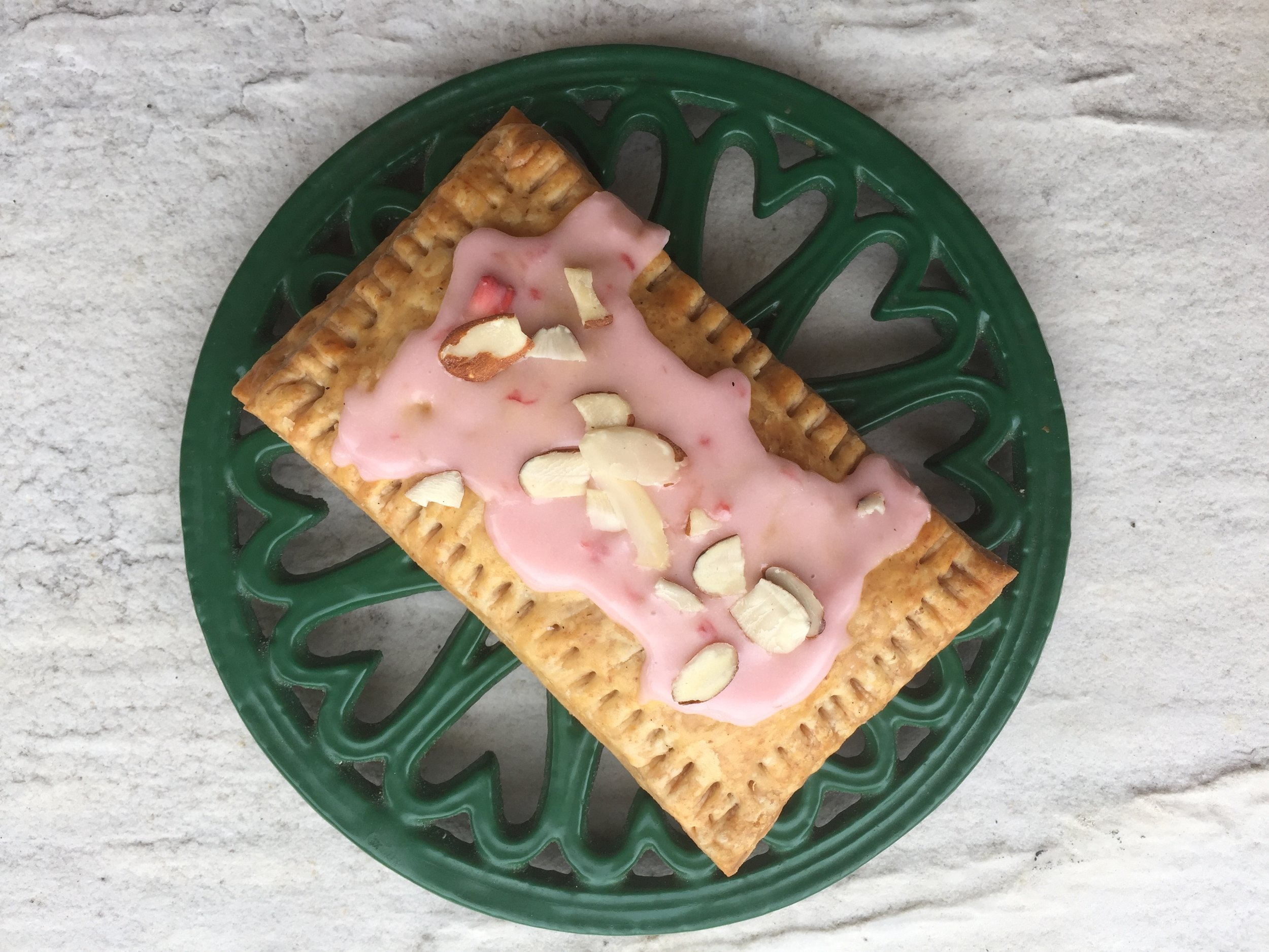 Strawberry Almond Poptart