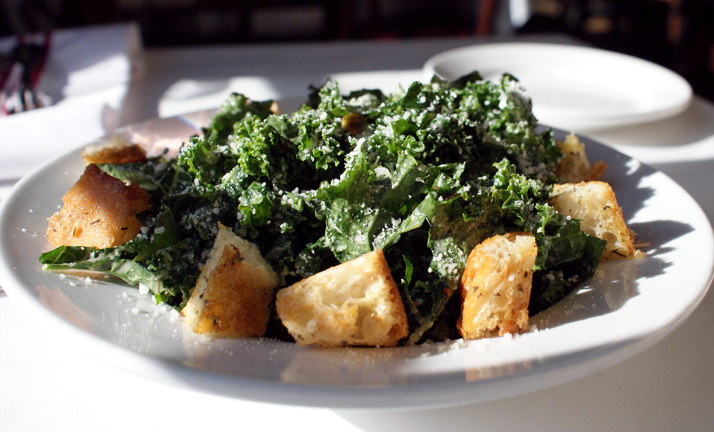 Kale Caesar Salad at Max's on Broad
