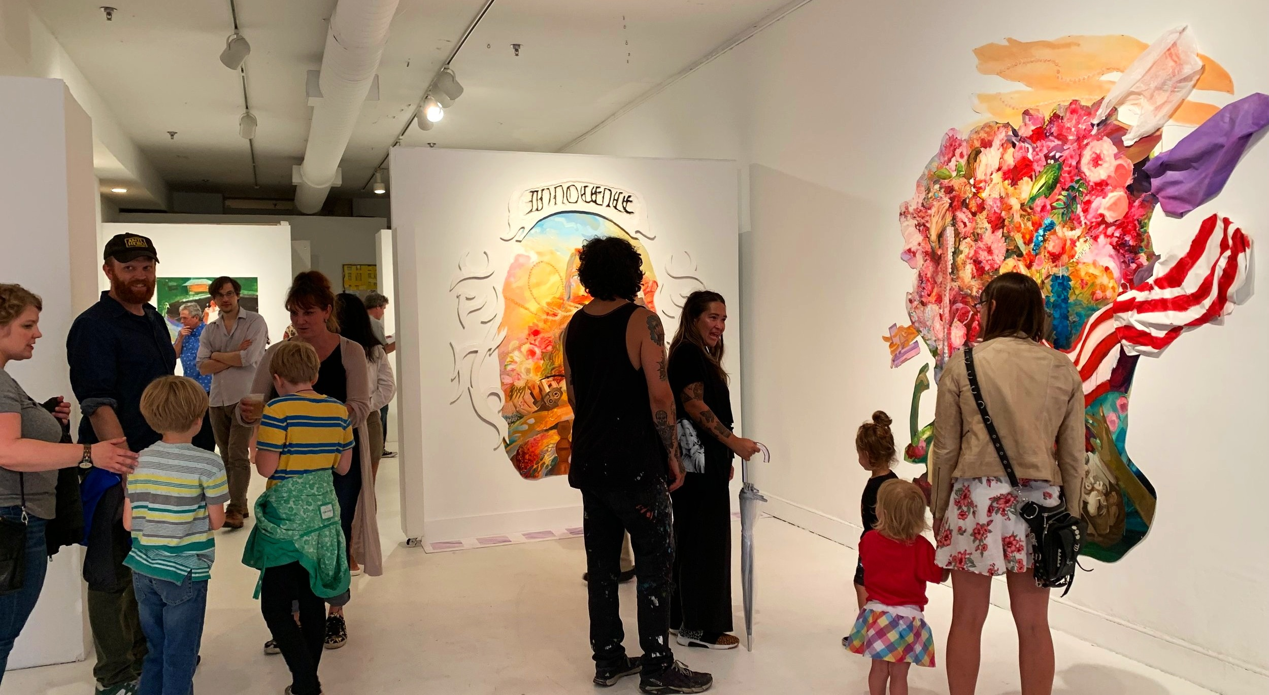 ADA Gallery during June 2019's First Friday