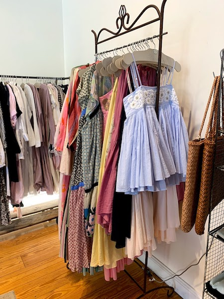 Verdalina carries clothes from designers in the U.S, Japan, and Europe.