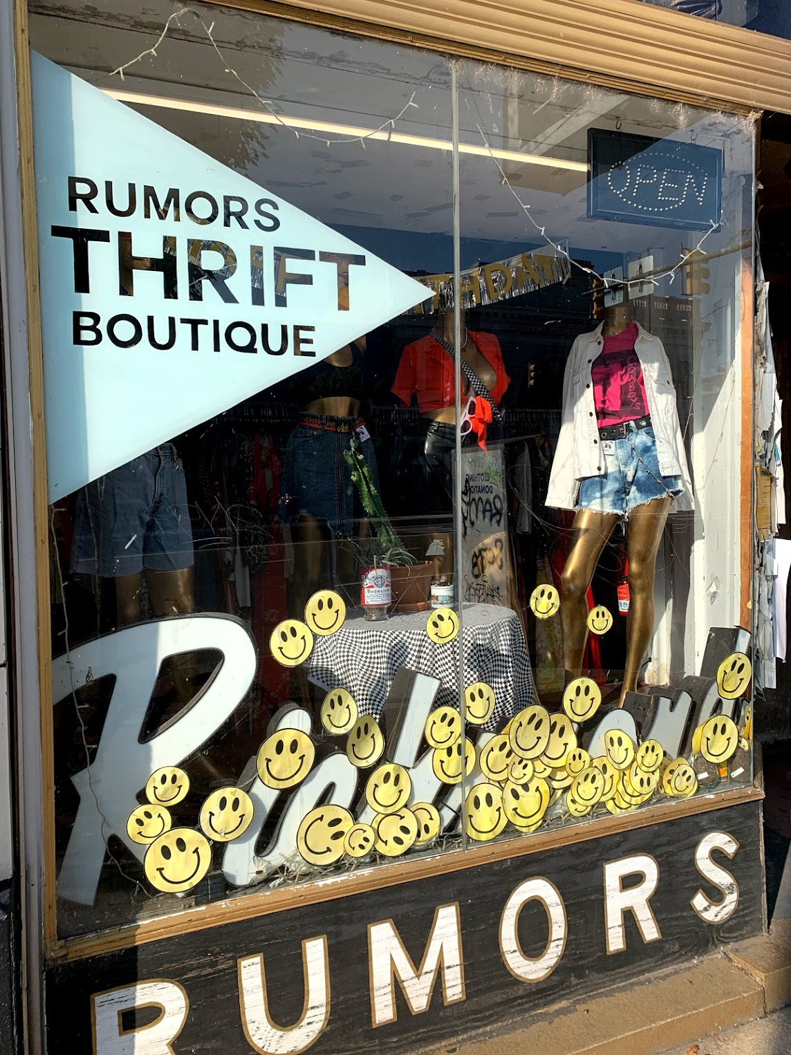 Rumors is a consignment shop located near VCU's campus.