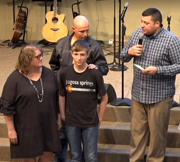BLANE BROWN    03-10-19     We are glad to have you in our FBC family!