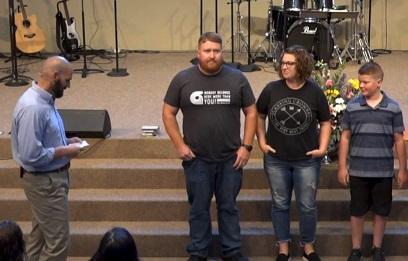 HUNTER WATKINS  WITH PARENTS  ERRIK & KASSIE WATKINS  |  07-28-19