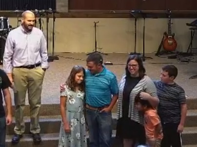 Olivia! We are so thrilled for you and your calling into Christian Service! We pray that we are the church for you and help equip you in your calling.