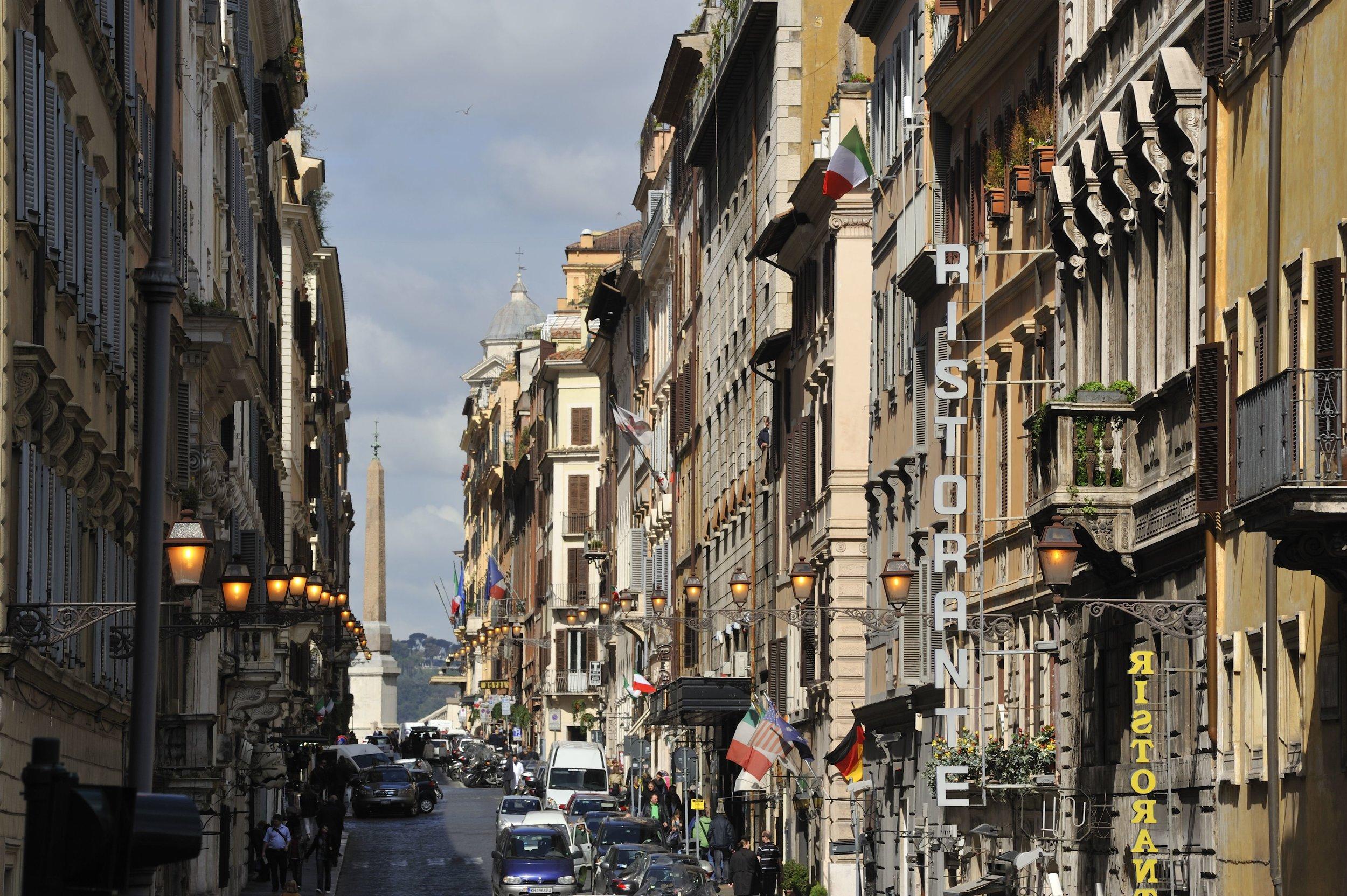 Via Sistina, Roma