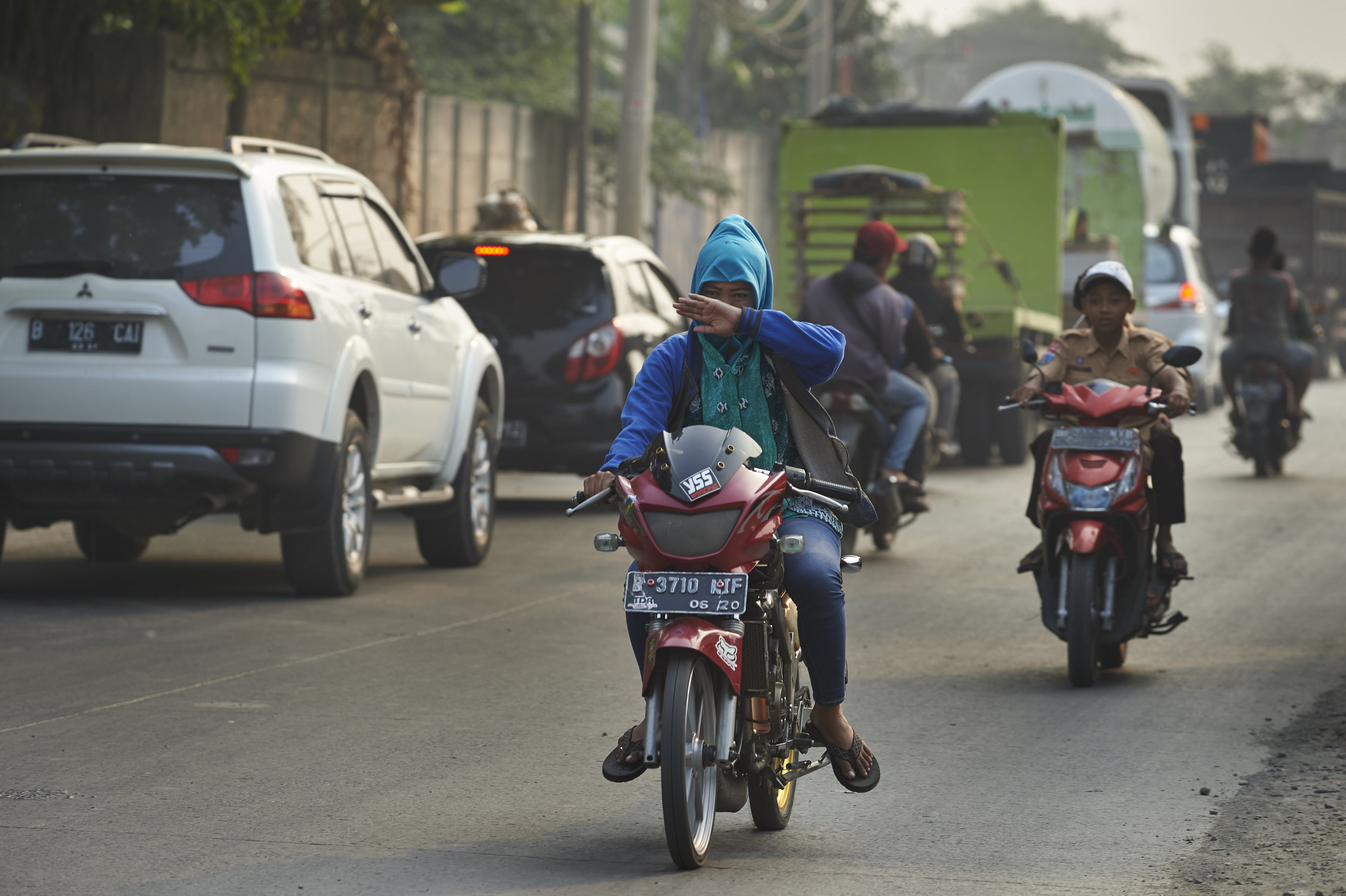 Air quality is getting worse, but the solutions are within reach. - Photo: UNICEF Indonesia