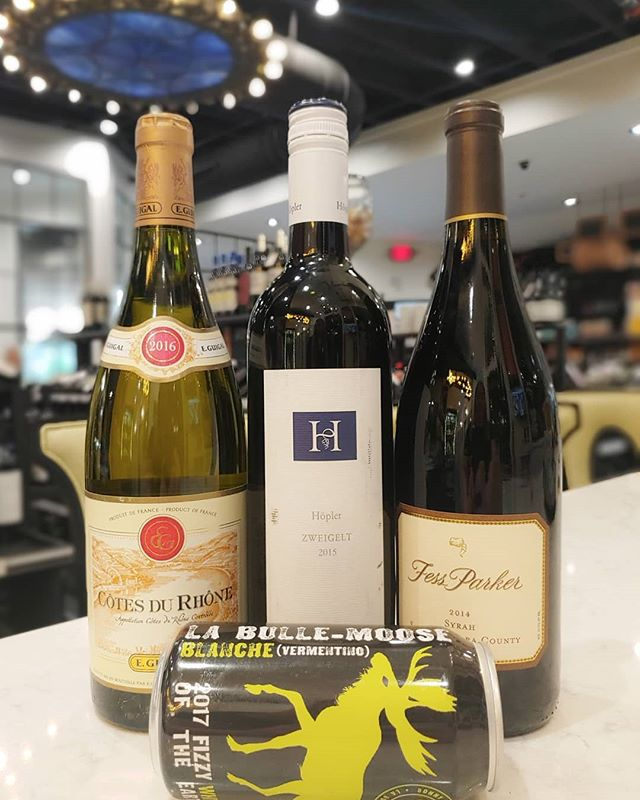 Without further ado, here's the tasty line up for our tasting this evening at 9 Palmetto Bay Rd from 5 to 7pm!  ____ #vermintino #fessparker #cotesdurhone #winetasting #cheesetasting #Hiltonhead #shoplocal #winelover #syrah#rollerswineandspirits