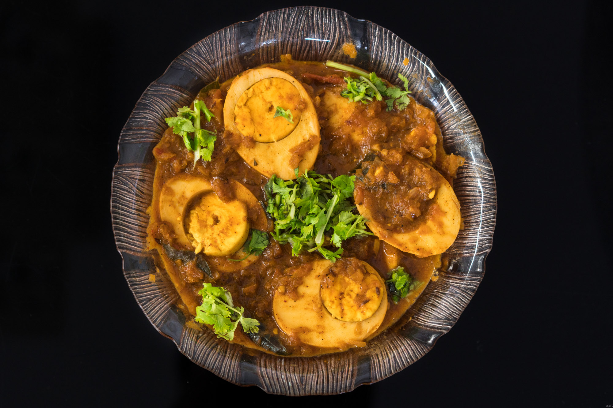 Egg curries can be paired with variety of food items.