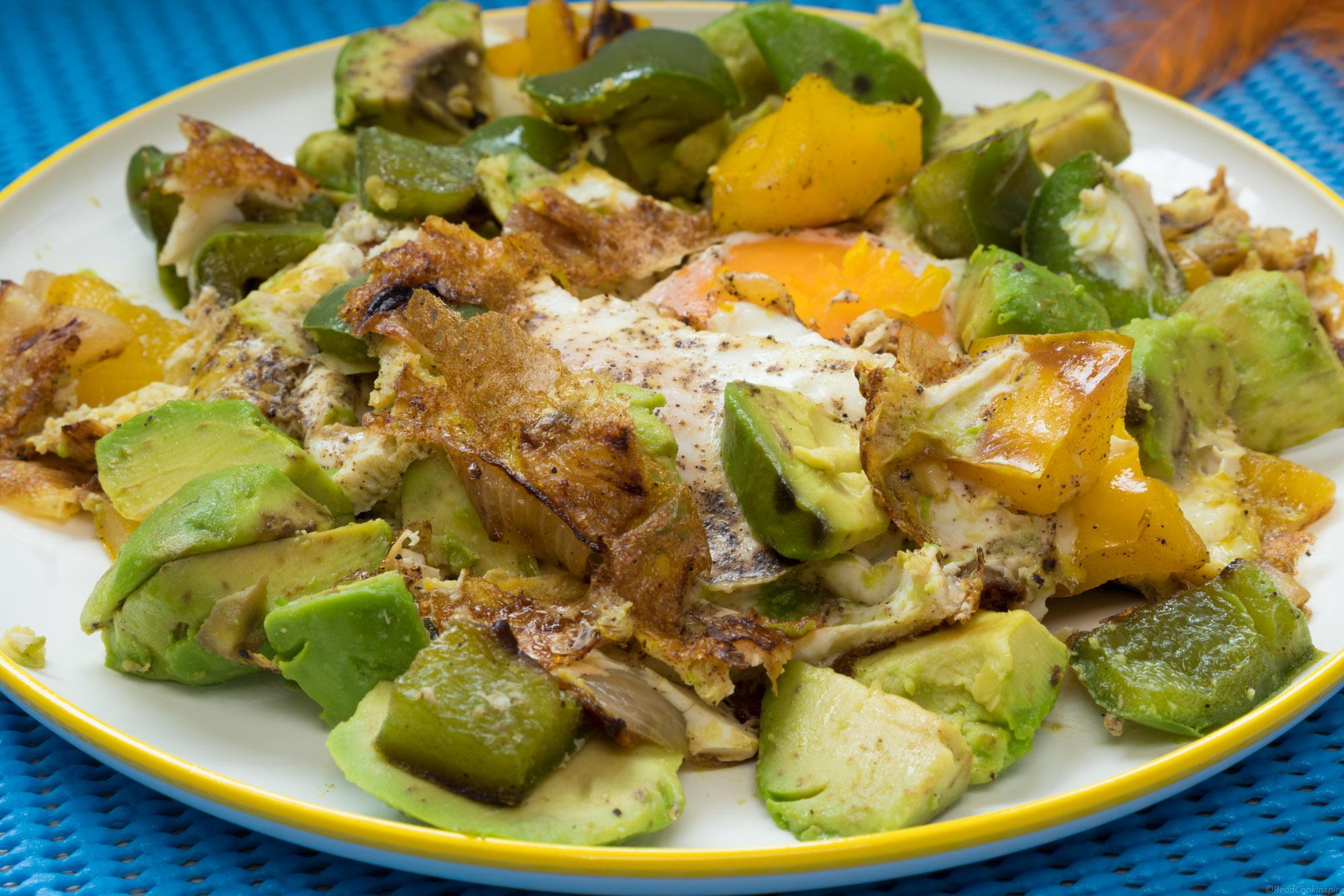 Pan-fried Egg Avocado