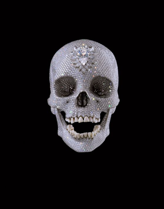 'For the Love of God' Damien Hirst, 2007
