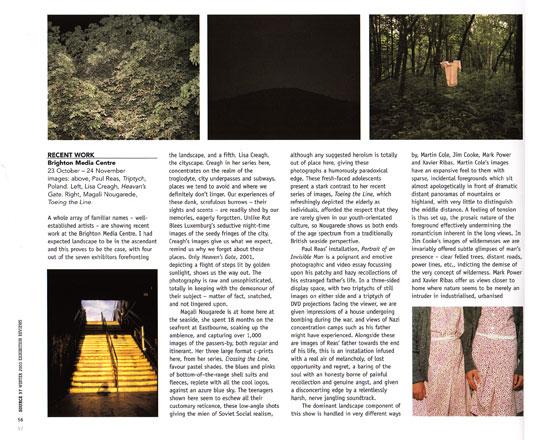 Source Magazine, 2003